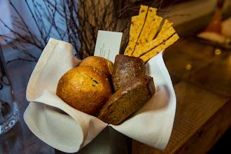 Photo: Addictive cheesy flatbread, mini pumpkin loaves and onion rolls - all homemade at Park Avenue Autumn.