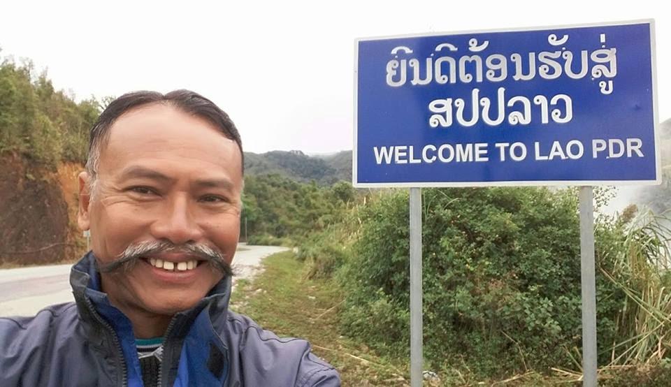 Tạm biệt nước Lào.
