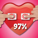Fingerprint Love Test Scanner Prank icon