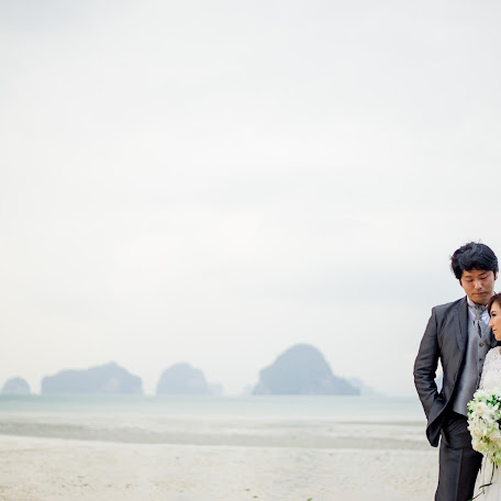 Wedding photographer Wasan Chirdchom (krabiphotography). Photo of 12.12.2017