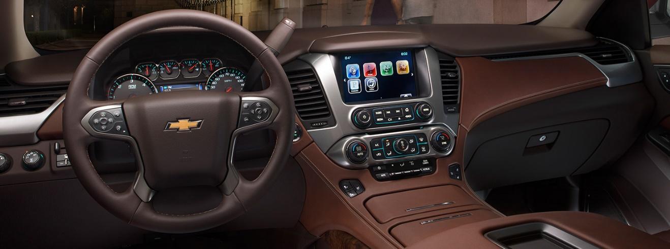 شفروليه تاهو 2015، عندما تكون التكنولوجيا الأكثر تطوراً في سيارة واحدة 1