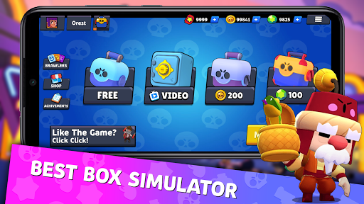 Box Simulator For Brawl Stars 7.2 screenshots 1