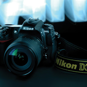 Nikon D300s by Genesis Carabeo - Products & Objects Technology Objects ( light painting, camera )