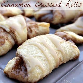 Cinnamon Crescent Rolls.