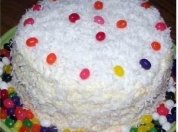 Lemon 6 Layer Coconut Cake