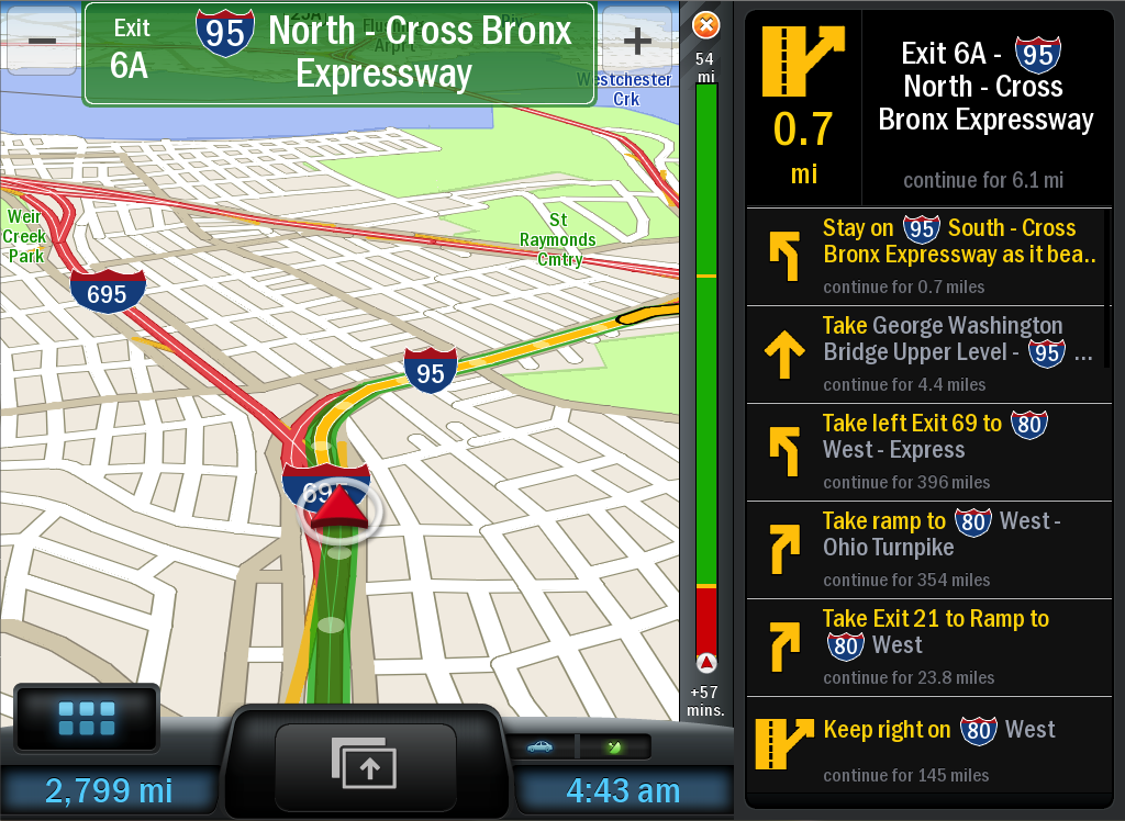 CoPilot Premium USA - GPS- screenshot