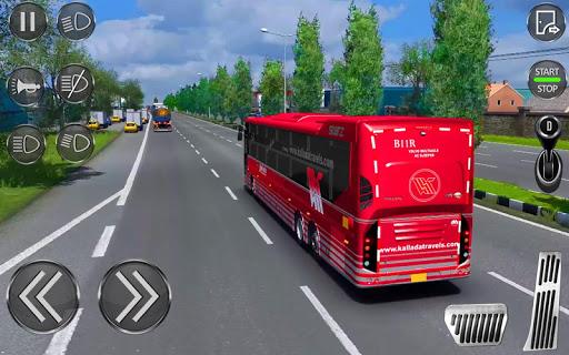 City Coach Bus Driving Simulator 3D: City Bus Game screenshots 1