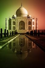 Photo: Taj Mahal at dawn, Agra, Uttar Pradesh, India. (I played a bit with the graduated filter in Lightroom).