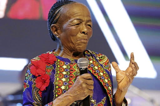 Mary Twala has made an immense contribution to the arts that saw her receive recognition./supplied