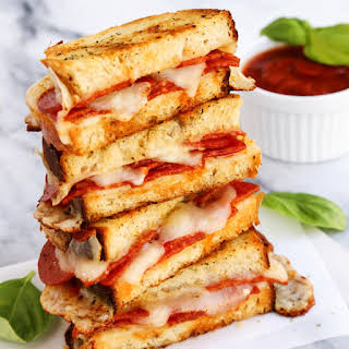 Pepperoni Pizza Grilled Cheese.