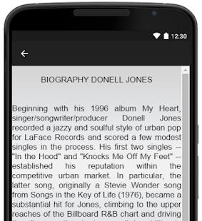 Donell Jones Music Lyrics - náhled
