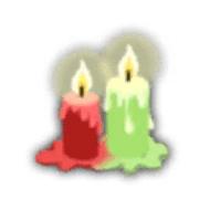 赤緑ロウソク