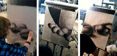 Photo: value studies observational drawing