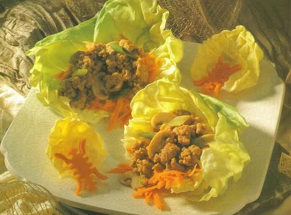 Oriental Style Ground Pork Recipe