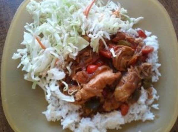 Mock Asian Crockpot Chicken Dish Recipe
