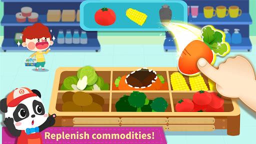 Baby Panda's Town: Supermarket screenshot 9