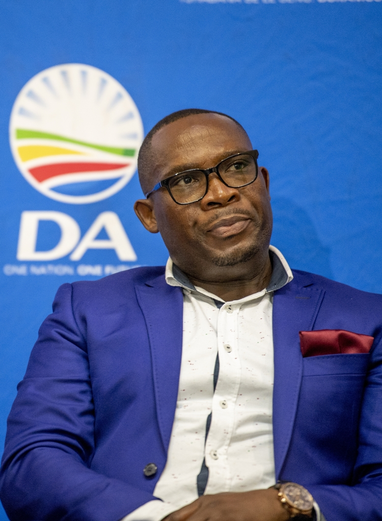 Western Cape DA leader Bonginkosi Madikizela says he feels vindicated after being cleared of wrongdoing when friends arranged a surprise birthday party for him which included a R3,000 cake.