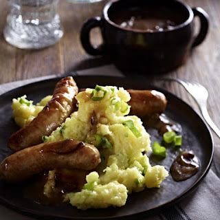 Sausages and Celery Root Mash