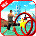 Stuntman Run Adventure Water Game