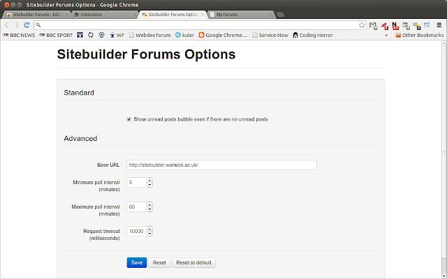 Sitebuilder Forums