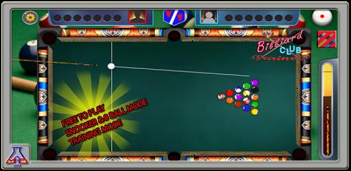 Billiard Club Trainer - Free Play 8 Ball & Snooker captures d'écran