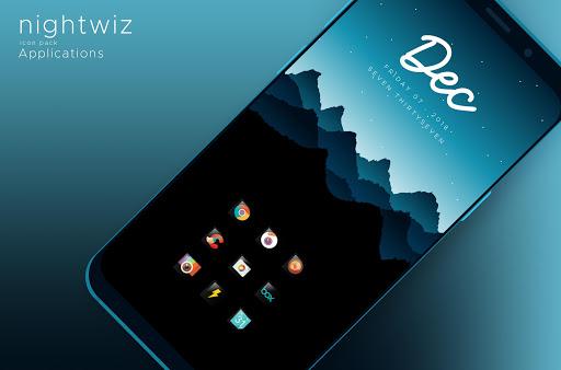 Nightwiz - Icon Pack screenshots 1