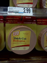 Photo: So I picked my husbands favorite Oscar Mayer thick cut bologna.