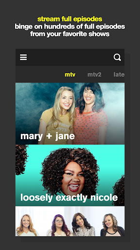 MTV screenshot