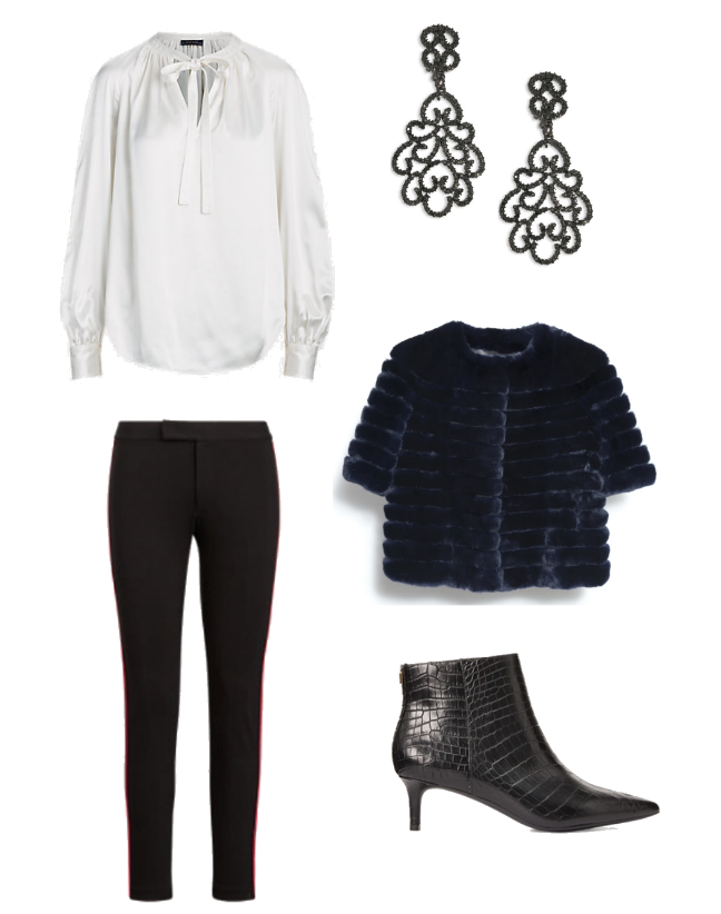 New York Social Diary what to wear apres ski, stylish dressing for the slopes. karen klopp, packing for travel