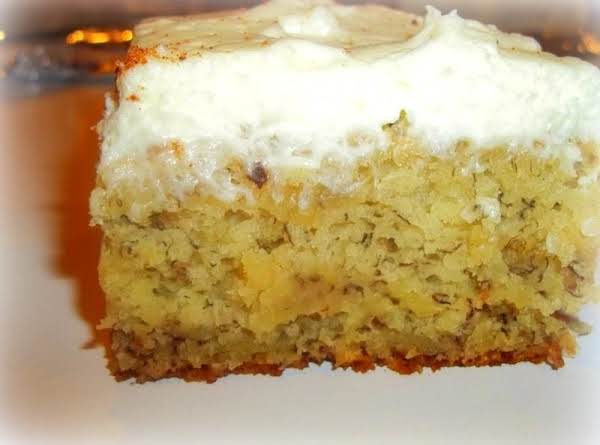 Luscious Banana Cake W / Cream Cheese Frosting Recipe
