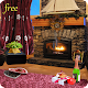 Romantic Fireplace Live Wallpaper Free