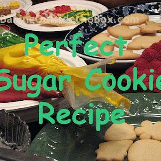 Perfect Sugar Cookies.