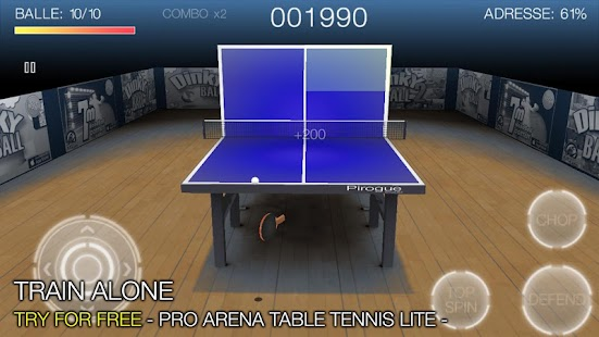 Pro Arena Table Tennis- screenshot thumbnail