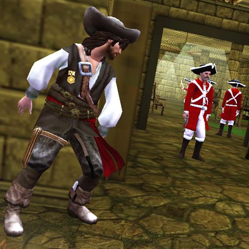 Pirate Caribbean Survival Prison Break: Navy Quest