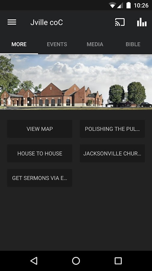 Jacksonville church of Christ- screenshot