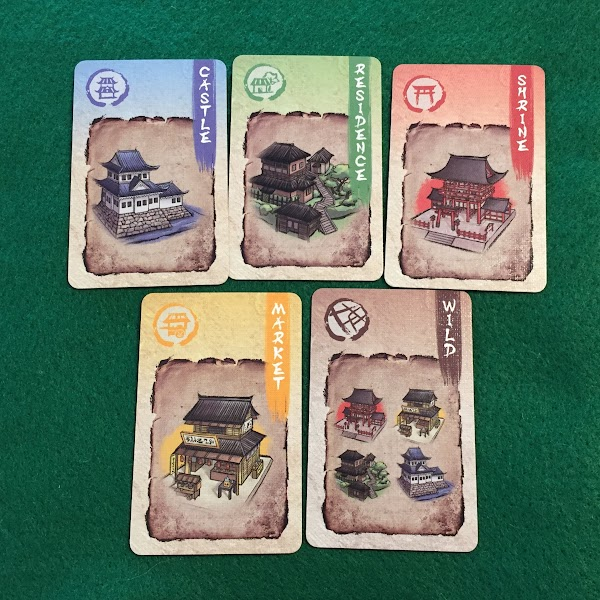 京都諜影:地点カード