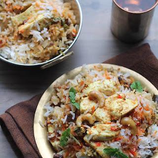 Paneer Biryani Recipe, How to make Paneer Biryani