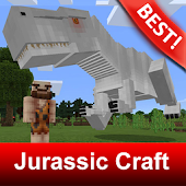 Tải Map Jurassic Craft World Addon for MCPE miễn phí