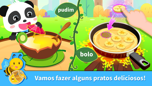 Banquete na floresta do Pandinha - Festa divertida screenshot 2