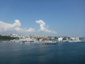 Photo: Pohled na přístav a Dolní město v Seogwipu