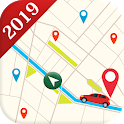 Maps GPS Navigation Route Planner Location Compass icon