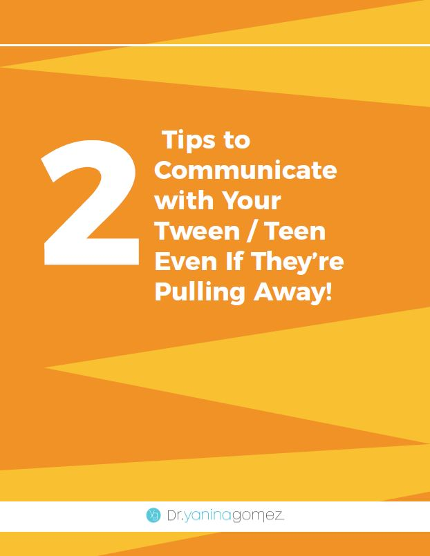 Tips to Communicate with Your Tween / Teen Even If They're Pulling Away!
