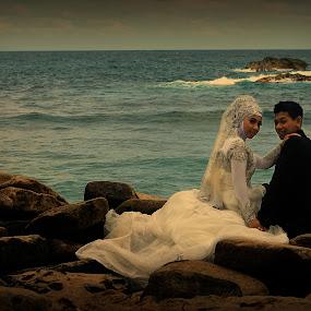 prewedding by Al Congalip - Wedding Bride & Groom ( jember, pre wedding )