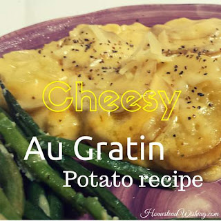 Au Gratin Potato Recipe