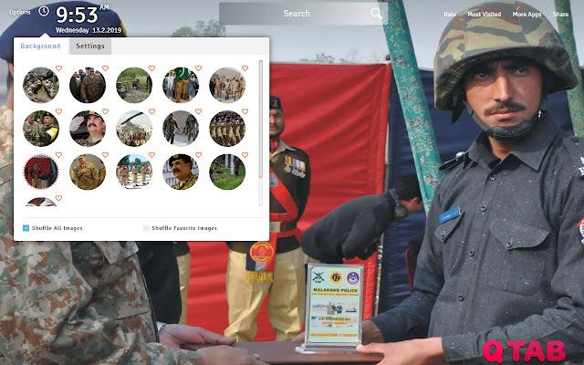 Pak Army Wallpapers Theme Pak Army New Tab
