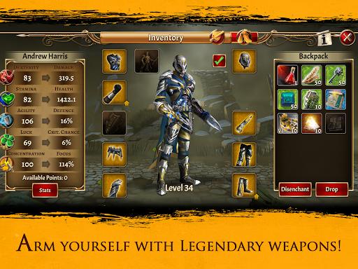 Eterna: Heroes Fall - Deep RPG 1.146 screenshots 8