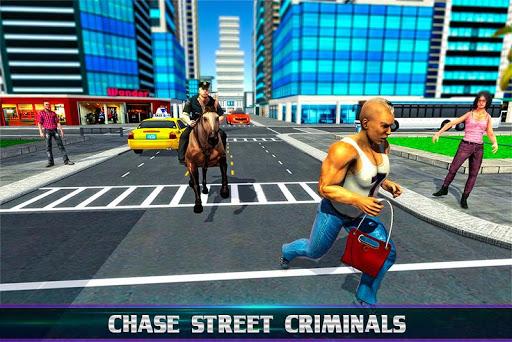 Chasse à cheval de police montée en 3D  captures d'écran 1