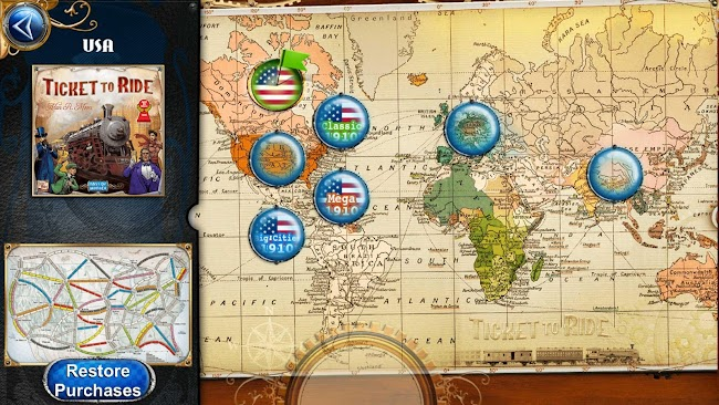 Ticket to Ride- screenshot