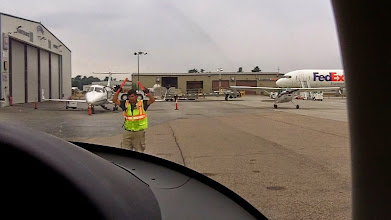 Photo: Taxiing into -- Cheyenne? Not sure