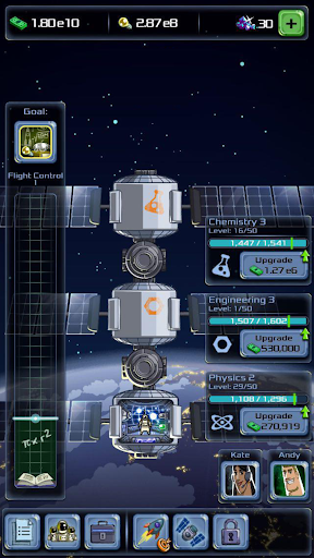 Idle Tycoon: Space Company  captures d'u00e9cran 2